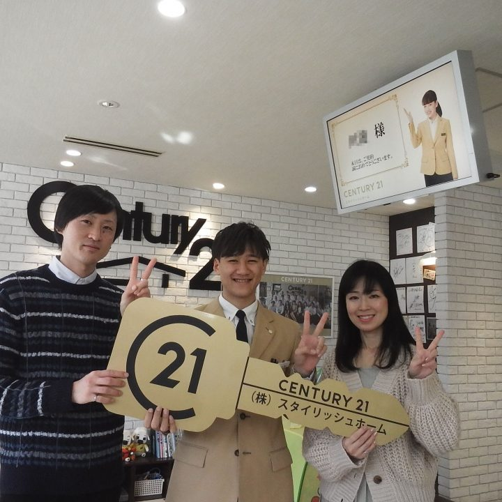 K様 ご購入記念写真 担当:吉田寛太、鈴木剛史