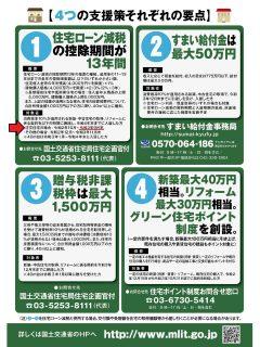 住宅ローン減税13年間延長