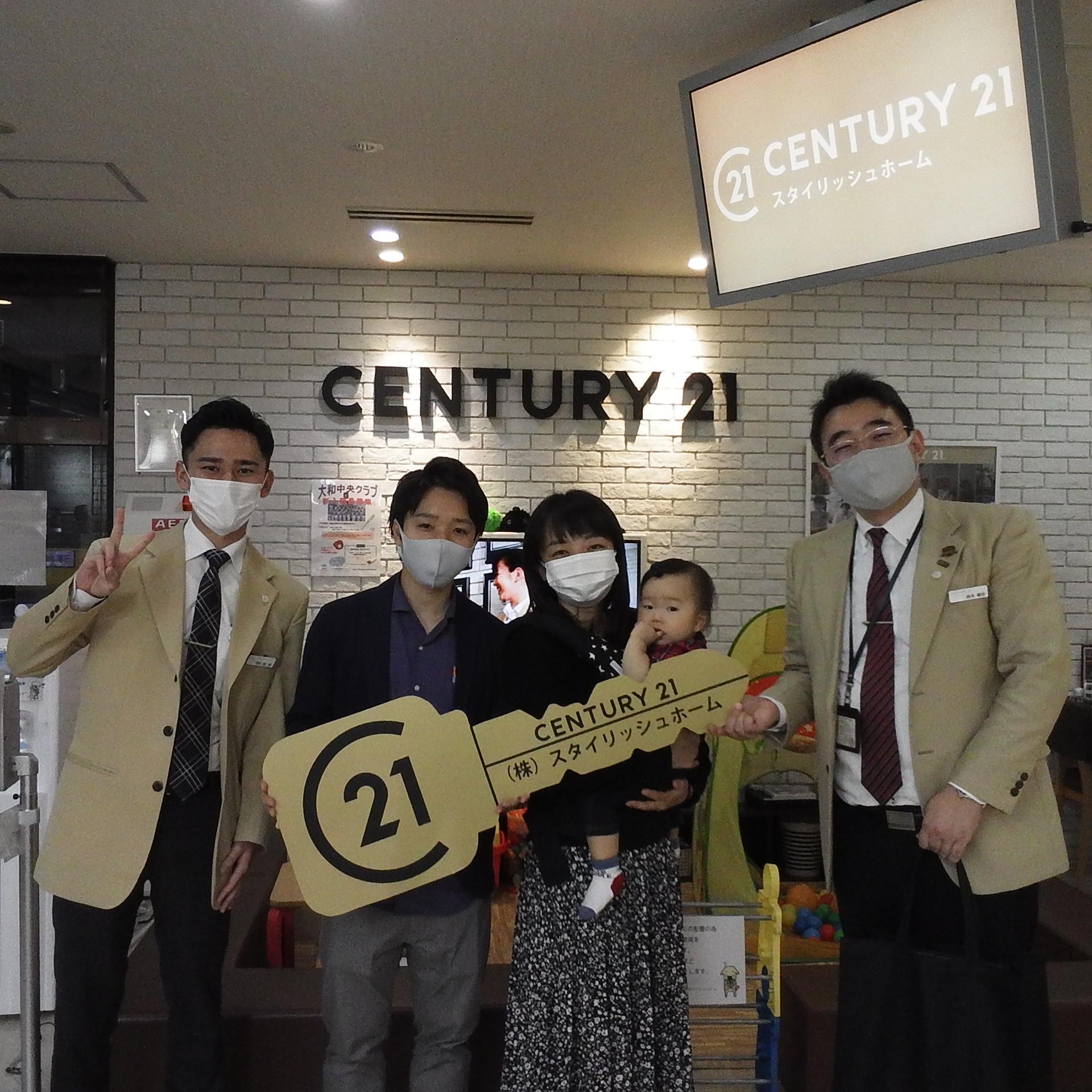 K様 ご購入記念写真 担当:島田颯一郎、鈴木剛史